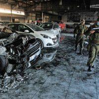 [Chile] Concepción: dispositivo incendiário contra concessionária de automóveis