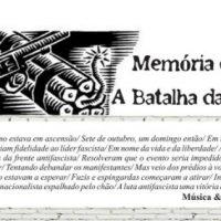 Memória combativa: A Batalha da Praça da Sé