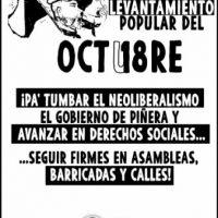 [Chile] Documento de Posição frente ao Plebiscito, processo constituinte e Assembleia Constituinte.