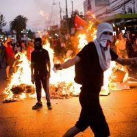 [Chile] Protestos na Puente Alto, em Santiago
