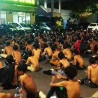 [Indonésia] Polícia prende 4.115 pessoas durante os protestos contra a Lei Omnibus