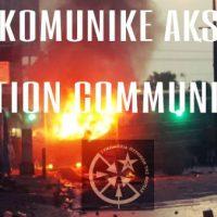 [Indonésia] Yogyakarta: 'CCF / Nemesis Action' assume a responsabilidade pelo incêndio de um carro de luxo