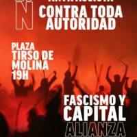 [Espanha] Madrid: Concentração: Por um 20N antifascista e antiautoritário