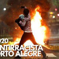 Vídeo | Ato Antirracista em Porto Alegre (RS)