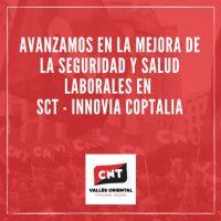 [Espanha] A CNT avança na melhoria da saúde e segurança ocupacional em Servei Català de Trànsit - INNOVIA COPTALIA