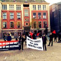 [Holanda] Protesto em solidariedade ao anarquista Abtin Parsa em Amsterdam