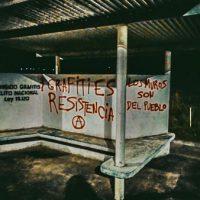 [Uruguai] Grafiteiros anarquistas desafiam proibições lançando uma campanha de grafites