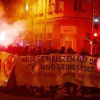 [Alemanha] Leipzig: Relato da manifestação de 31 de outubro: Contra o Estado e suas leis - Abaixo a repressão