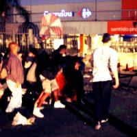 [Porto Alegre-RS] Não foi um ato. Foi uma ação de hostilidade contra o racismo.