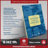 """Lançamento virtual do livro """"Escritores e textos libertários"""""""