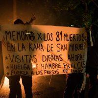 [Chile] Santiago: Barricadas a 10 anos do incêndio no cárcere de San Miguel e em solidariedade com as mobilizações dos presos