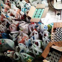 [Grécia] Rouvikonas: Entrega de comida para famílias de estudantes