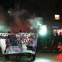 [Alemanha] Hannover: manifestação espontânea contra a violência e a repressão policial em 13.12