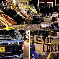 [EUA] Defesa Militante Contra Despejo e Polícia em Portland