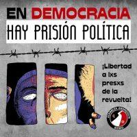 "[Chile] Na ""democracia"" existe prisão política!"