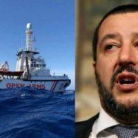 Líder do partido de extrema direita italiano é julgado por caso de imigrantes presos no mar