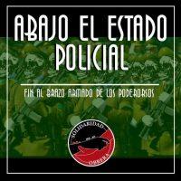 [Chile] Abaixo ao Estado Policial: Declaração Pública de Solidaridad Obrera (IWA-AIT)