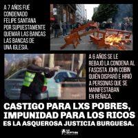 [Chile] Castigo para os pobres e impunidade para os ricos, é a asquerosa justiça burguesa
