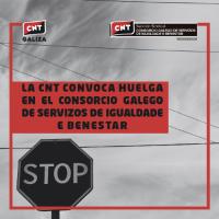 [Espanha] A CNT convoca greve no Consórcio Galego de Serviços de Igualdade e Bem-Estar