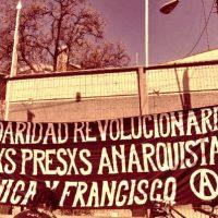 [Chile] Atualização da situação dos companheiros anarquistas Francisco Solar e Mónica Caballero