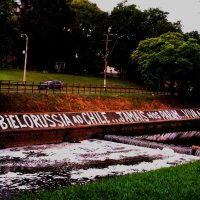 De Porto Alegre à Bielorrússia ao Chile... Jamais nos param. Viva a Anarquia!!!
