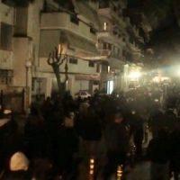[Grécia] Vídeo | Marcha em Daphne contra o terrorismo estatal e policial