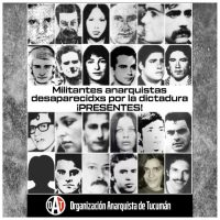 [Argentina] Militantes anarquistas desaparecidxs pela ditadura