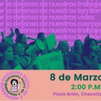 [Venezuela] Caracas: mobilização feminista de 8M, às 14h, Plaza Brión, Chacaito