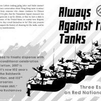 Zine: Sempre Contra os Tanques | Três ensaios sobre o Nacionalismo Vermelho