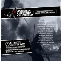[Chile] Santiago: Assembleia anarquista aberta, Est. Central – 30 de março
