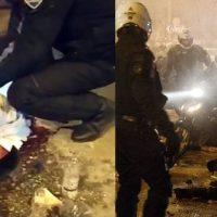 Manifestação contra violência policial termina em confrontos na Grécia
