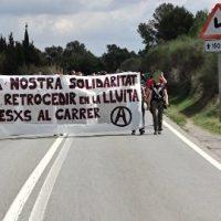 [Espanha] Mais de 300 pessoas marcham até a prisão de Brians 1