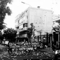 [Chile] Agitação e propaganda em solidariedade com os presos em greve de fome