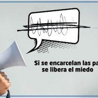 [Espanha] Se as palavras são aprisionadas, o medo é libertado