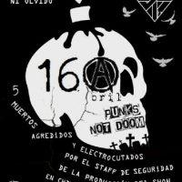 [Chile] Memória Negra – 16 de Abril de 2015