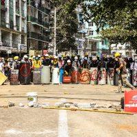 [Grécia] Solidariedade com aqueles que lutam contra o golpe em Mianmar