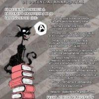 [Chile] Convocatória | Primeiro Congresso Internacional de Docências Anarquistas