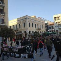 [Grécia] Patras: Informações da passeata de solidariedade aos imigrantes insurgentes de Corinto