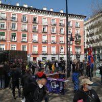 [Espanha] Madrid: Crônica da concentração em Tirso de Molina em solidariedade com os anarquistas presos em Barcelona e todos os reprimidos
