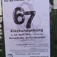 [Alemanha] Manifestação: Pela liberdade – pela vida!