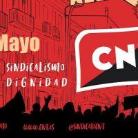 [Espanha] Primeiro de Maio. CNT: Dignidade e sindicalismo