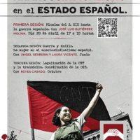 """[Espanha] Ciclo """"História do Anarco-sindicalismo no Estado espanhol"""""""