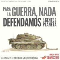 [Internacional] Chamado: Vamos reduzir o gasto militar • Defendamos as pessoas e o planeta