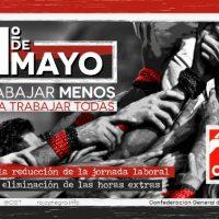 [Espanha] 1º de Maio 2021: Trabalhar menos para trabalhar todas