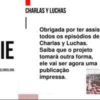 O livro 1 do Charlas y Luchas é sobre Maria A. Soares