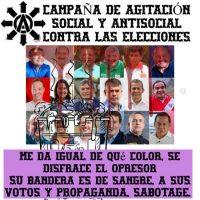 [Peru] Campanha de agitação social e anti-social contra as eleições