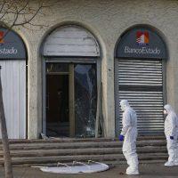 [Chile] Santiago: Adjudicação de ataque explosivo contra o BancoEstado na comuna de Las Condes