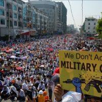Petição internacional de solidariedade com o Movimento de Desobediência Civil de Mianmar (CDM)