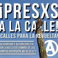 [Chile] Situação de Mónica Caballero há 39 dias do início da greve de fome