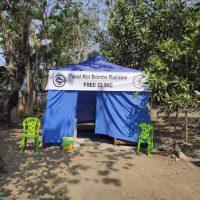 """[Mianmar] """"Abrimos uma clínica de saúde gratuita em Sittwe"""""""